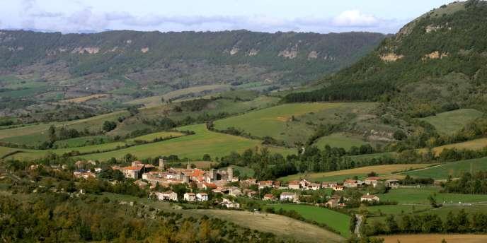 Le village de Sainte-Eulalie-de-Cernon, sur le plateau du Larzac.