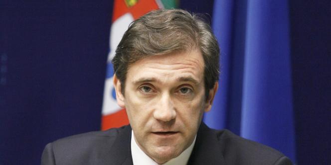 Le premier ministre portugais, Pedro Passos Coelho, en juin 2011.