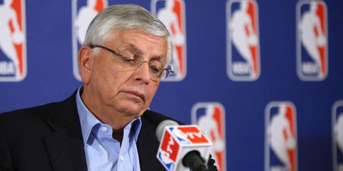 David Stern, le patron de la NBA.