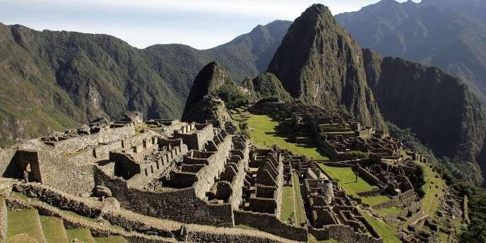 Les ruines du Machu Picchu, près de Cuzco, au Pérou.