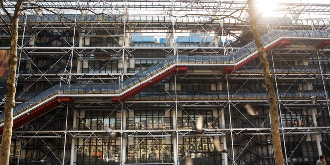 Le Centre Pompidou à Paris devra sacrifier des expositions en 2013.