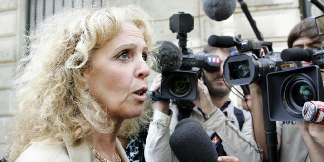La socialiste Michèle Sabban, en août 2006.