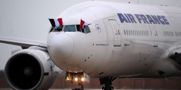 Un avion d'Air France-KLM en juillet 2011.
