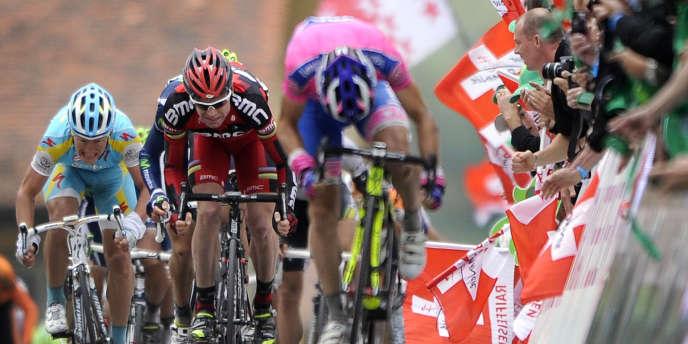 Finish sur le Tour de Romandie.