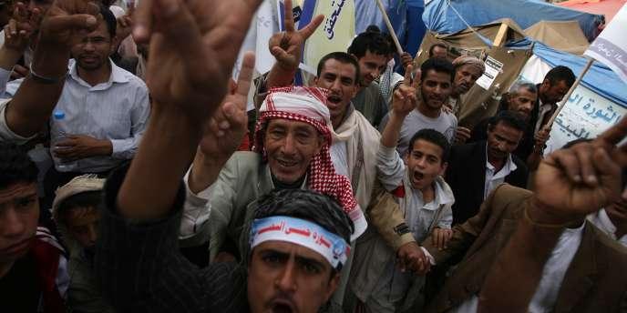 Les manifestations sont quasi quotidiennes à Sanaa, la capitale du Yémen.