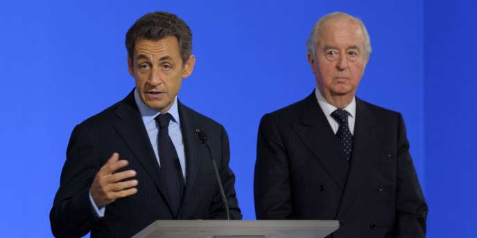 Nicolas Sarkozy et Edouard Balladur en juin 2011.