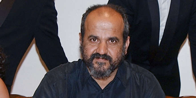 Le réalisateur syrien Oussama Mohammad au Festival de Cannes en mai 2002.