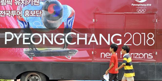 La ville de Pyeongchang candidate à l'organisation des JO 2018.