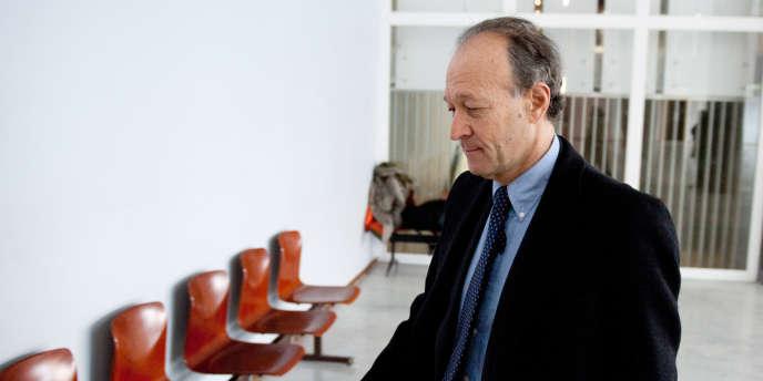 Thierry Gaubert, au tribunal de Nanterre le 14 mars 2011.