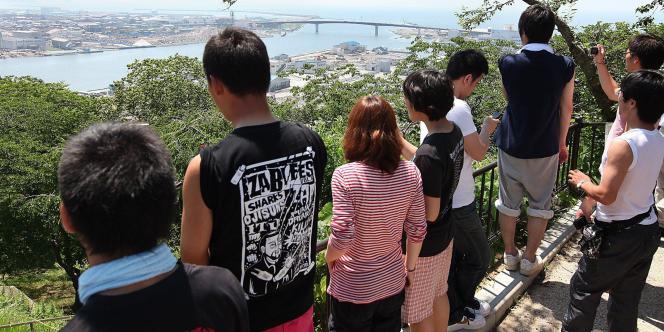 En raison de l'alerte au tsunami, les populations côtières avaient été appelées à se mettre à l'abri dans les hauteurs.