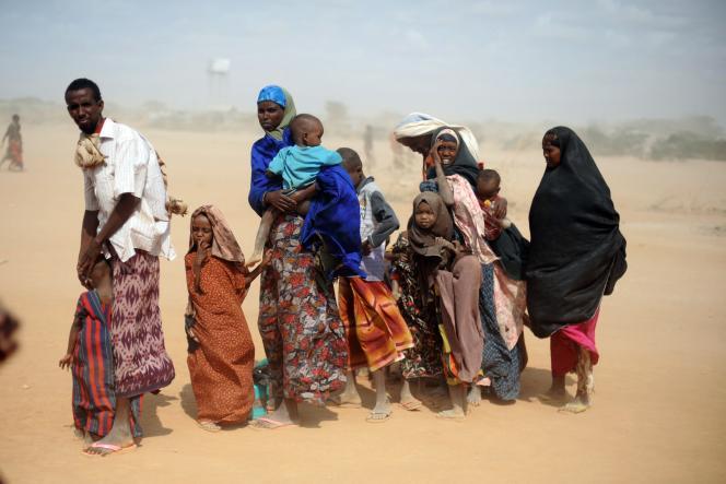 Les réfugiés somaliens fuient leur pays à cause de la sécheresse ou de la guerre civile, parfois les deux.