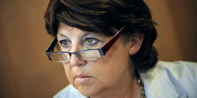 Martine Aubry, candidate à la primaire socialiste.