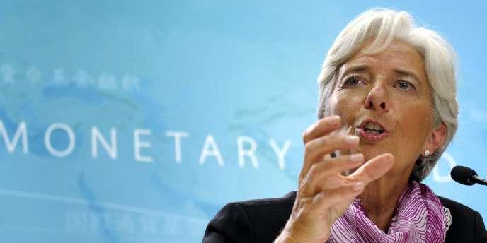 La directrice générale du Fonds monétaire international, Christine Lagarde, le 6 juillet 2011.