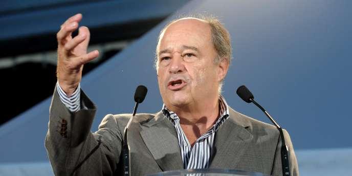 Jean-Michel Baylet, président de Parti radical de gauche, le 6 septembre 2009 à La Rochelle.