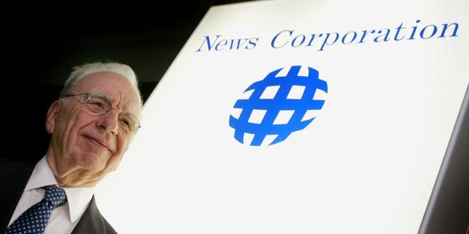 Le PDG du groupe de médias News Corporation, Rupert Murdoch, en octobre 2004.