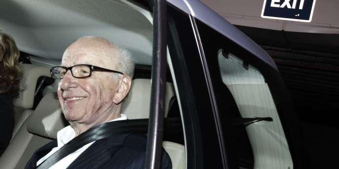 Rupert Murdoch, le 13 juillet à Londres.