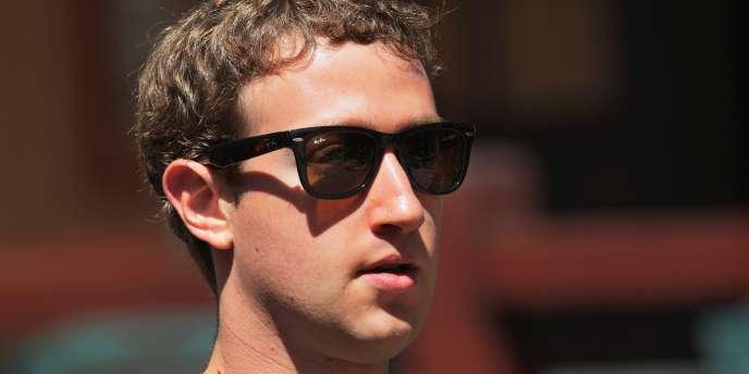 Mark Zuckerberg, le 8 juillet 2011.