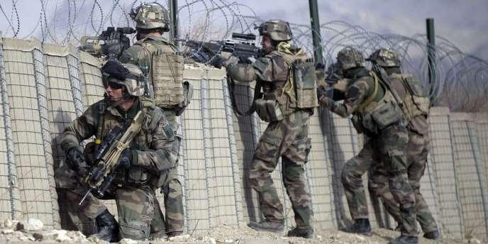 Des soldats français dans la province de Kapisa en Afghanistan en janvier 2011.