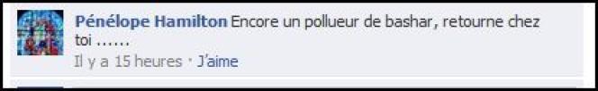 Commentaire sur le compte lemonde.fr