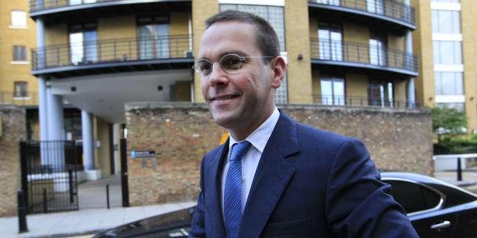 James Murdoch, le 19 juillet 2011 à Londres.