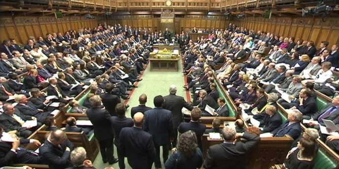 La Chambre des Communes britannique, en juillet 2011.