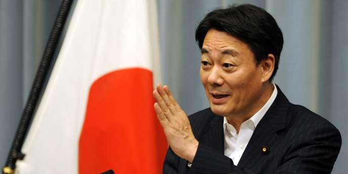 Le ministre de l'économie japonais, Banri Kaieda, pendant une conférence de presse à Tokyo, le 19 juillet.