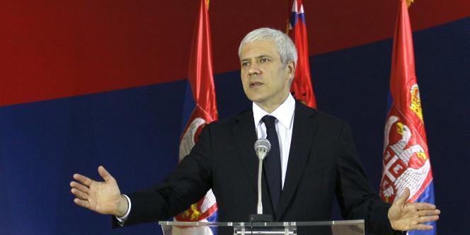 Le président serbe, Boris Tadic, en 20 juillet 2011.