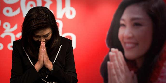 Yingluck Shinawatra, soeur de l'ancien chef de gouvernement Thaksin, est devenue première ministre en juillet 2011.