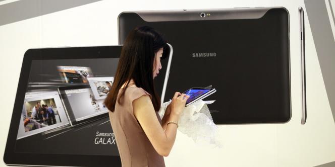La nouvelle version de la Galaxy Tab de Samsung.