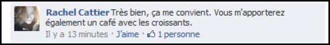 Commentaire sur le compte Facebook Lemonde.fr