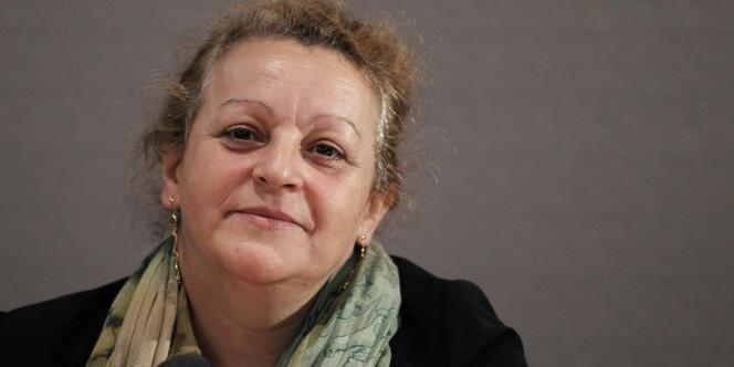 La sénatrice Alima Boumediene-Thiery, en 2010 à Paris.