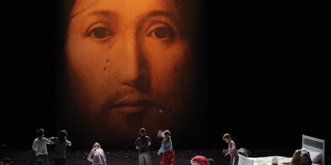 Représentation de la pièce de Roméo Castellucci,