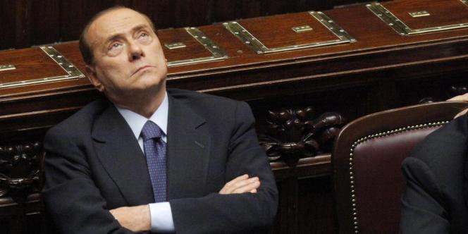 Le chef de l'exécutif italien, Silvio Berlusconi, à Rome, le 20 juillet 2011.