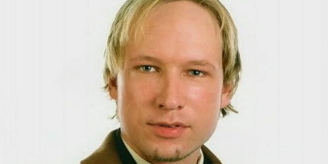 Anders Behring Breivik, l'auteur de l'attentat à la bombe à Oslo et de la fusillade sur l'île d'Utoya le 22 juillet.
