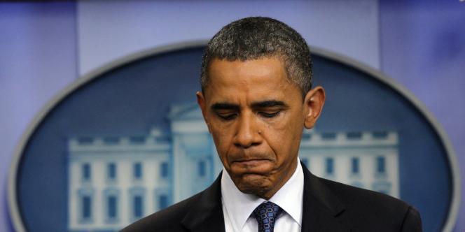 La cote de popularité de Barack Obama est passée pour la première fois sous les 40 %, dimanche 14 août.