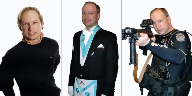 Anders Behring Breivik, l'auteur présumé de deux attaques à Oslo et Utoya.