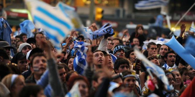 Montevideo  n'a eu d'yeux que pour la finale de Copa America.