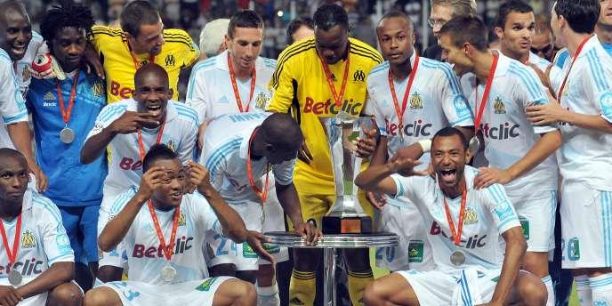 Marseille a remporté le Trophée des champions le 27 juillet sur le score de 5-4 face à Lille.
