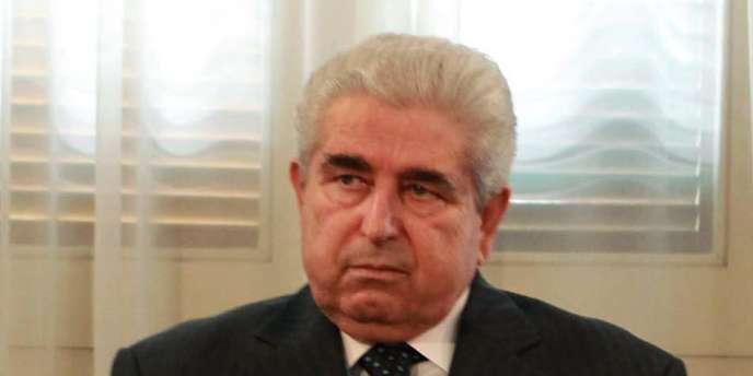 Le président chypriote, Demetris Christofias, le 27 juillet.