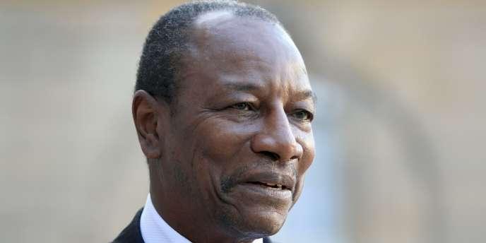 Le président guinéen, Alpha Condé, le 23 mars 2011.