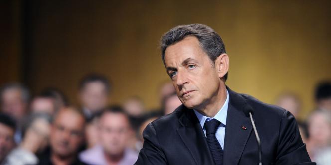 Nicolas Sarkozy, le 28 juillet 2011.