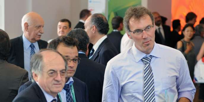 Laurent Blanc, ici aux côtés de Noël Le Graët, président de la FFF, le 30 juillet à Rio.