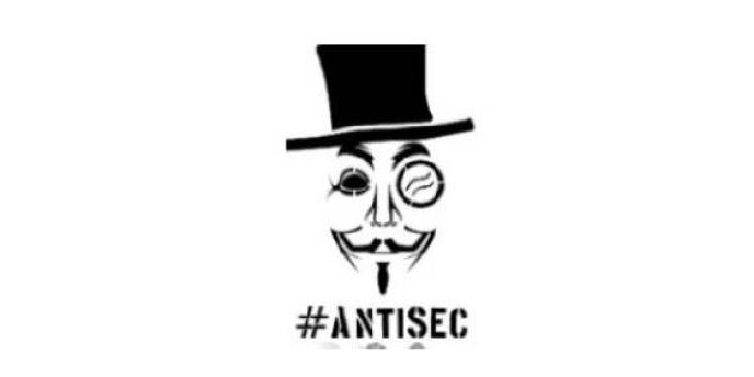 Le mot-clé #antisec, pour