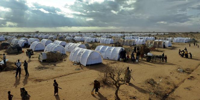 Un camp de réfugiés somaliens à Dabaab, au Kenya.