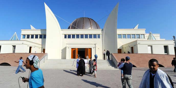 La grande mosquée de Strasbourg, inaugurée en septembre 2012.