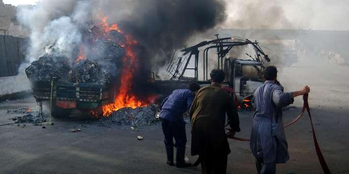 Les incidents à la frontière entre le Pakistan et l'Afghanistan sont fréquents.