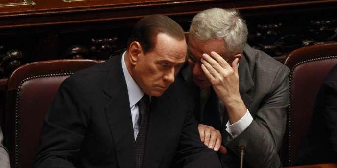 Dans une énième tentative visant à rassurer les marchés, le chef du gouvernement italien, Silvio Berlusconi, monte au créneau, en août et annonce devant la Chambre des députés un
