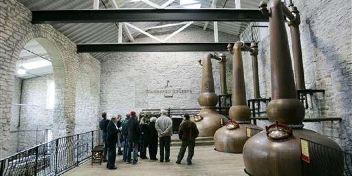 La Woodford Reserve Distillery, à Versailles (Kentucky).