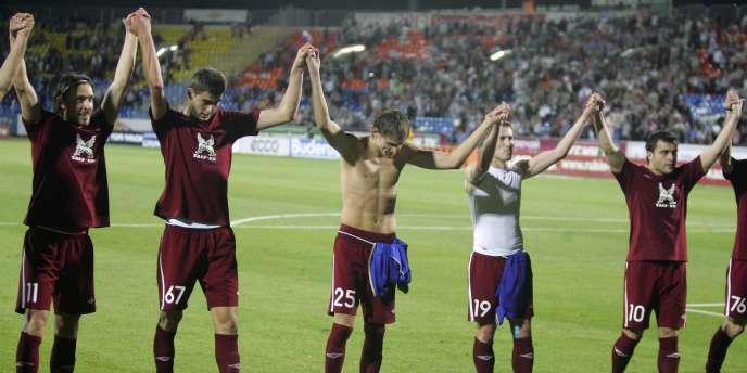 Le Rubin Kazan est l'adversaire de Lyon en barrages de la Ligue des champions.