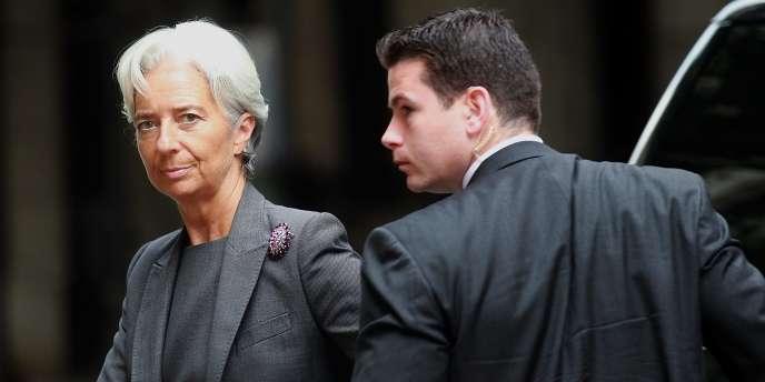 Christine Lagarde, le 26 juillet.